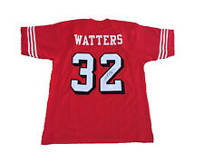 Ricky Watters Signed San Francisco 49ers RED Jersey JSA