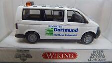 Wiking 1:87 H0 030872 VW T5 Flughafen Dortmund Intermodellbau 2010  NEU in OVP