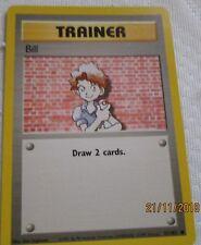 Pokemon card trainer card - Bill good condition