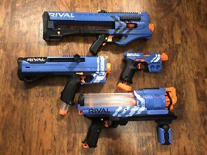 Nerf Rival Gun Blaster Lot Of 4! - XVII-3000, MXV-1200, XVII-700, XX-100