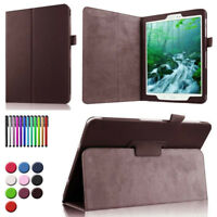 "For Samsung Galaxy Tab 3 4 7.0"" 8"" 10.1"" Tablet Slim PU Leather Stand Cover Case"