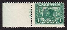 US 397 1c Pan-Pacific Plate Number 6131 Single OG NH SCV $40