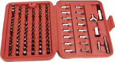 100pc Security Bit Set Torx Star Tamper Screws Hex Key Phillips Slotted Tri Wing