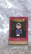 "1995 Hallmark Christmas Ornament Peanuts ""Lucy"" 1 Of 4"