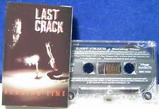 Last Crack Burning Time 13 track 1991 CASSETTE TAPE