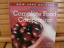 B001N01PD2 Complete Food Companion: 2009 Edition (Weight Watchers)