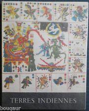 Terres Indiennes Max-Pol FOUCHET Photographies Guilde du Livre Lausanne E.O. N°