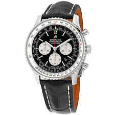 Breitling Navitimer 1 B01 Black Chronograph Dial Automatic Men's Watch