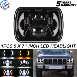 """For Freightliner FL50 FL60 FL70 FL80 Peterbilt 357 358 5x7 7x6"""" LED Headlight 1X"""
