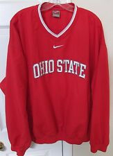 NCAA Ohio State Buckeyes V-Neck Red Pullover XL Great Quality Stitched by Nike