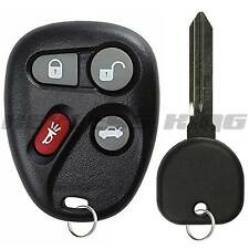 New Replacement Keyless Entry Remote Key Fob with Ignition Key for L2C0005T
