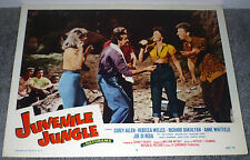YVETTE VICKERS original 1958 BAD GIRL lobby card JUVENILE JUNGLE movie poster