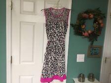 Women's KATE SPADE Pink & Black NUMU2686 Dress Size 12 (CON15)