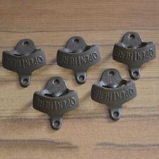 Cast Iron Beer Bottle Opener, Vintage Rustic Style Bottle Opener,Wall Mounted  P