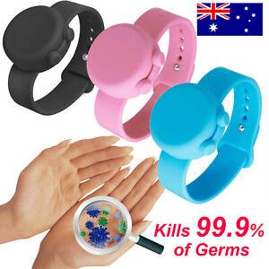 New Hand Dispenser Wristband Sillicone Bracelet Squeeze Soap Gel Portable Bottle