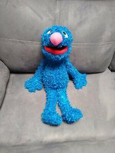 "Fisher-Price Sesame Street Grover Plush Stuffed Animal 16"" Long *Read*"