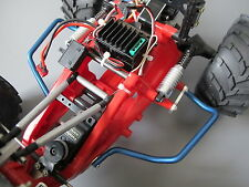 Blue Side Rail Step Nerf Bar Tamiya 1/10 Monster Beetle Lancia Rally Blackfoot