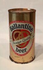 "Ballantine ""Premium Quality� Beer - Newark, Nj - flat top bottom opened"