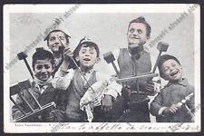 NAPOLI CITTÀ 245 COSTUME COSTUMI TIPI NAPOLETANI Cartolina viaggiata 1903