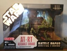 STAR WARS 2007 BATTLE PACKS AT-RT ASSAULT SQUAD TARGET EXCLUSSIVE