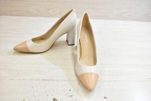 Marc Fisher Velda Pumps, Women's Size 8.5 M, Ivory MSRP $89.99