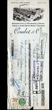 "VILLEFRANCHE-sur-SAONE (69) USINE de VETEMENTS de TRAVAIL TEBMOC ""COMBET"" en1934"