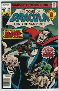 Tomb of Dracula #58 VF/NM [Marvel 1977] Special Blade issue