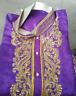 Designer Purple Men Kurta Sherwani Set New Arrivals Eid Indian Wedding Clothing