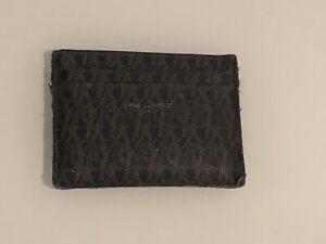 YSL Saint Laurent Black Leather Credit Card Holder, RRP £195