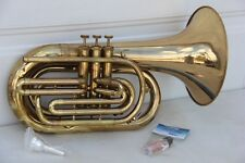 Blessing M300 Marching Baritone Horn With New Mouthpice and Oil Ready for Play
