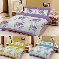 Floral Sketch Printed Duvet Cover Bedding Set Single Double King Super King