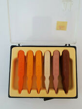 A1 Steak Sauce Vintage Doneness Picks Barbecue Grill Steak Markers in Box