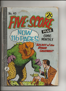 Five-Score Plus 40, Murray Australian DC reprint, VG-