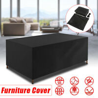 KCASA Furniture Seat Table Cover Durable Outdoor Table Chair Waterproof Cover