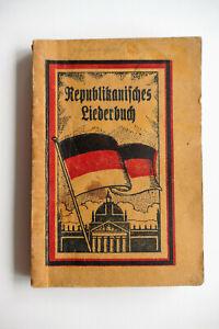 Republikanisches Liederbuch, Weimarer Republik, Hildesheimer Volksblatt 1925