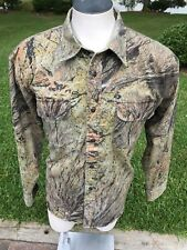 2d49aa0fde727 Cabelas Camo Hunting Shirt Large Sporting Goods Casual Button Down Coat  Jacket