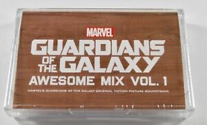 Guardians Of The Galaxy Awesome Mix Vol 1 Tape Cassette New 2017