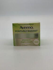 Aveeno Positively Radiant Intensive Moisturizing Night Cream 1.7 oz