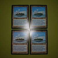 Remote Isle x4 Urza's Saga 4x Playset Magic the Gathering MTG