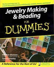 Jewelry Making & Beading for Dummies Metal Stone Beads Leather Tools Weaving