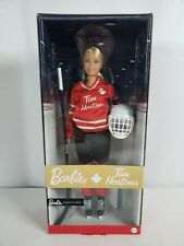 TIM HORTONS Barbie Doll Iconic Hockey Player and Canadian Coffee Legend 2020 USA