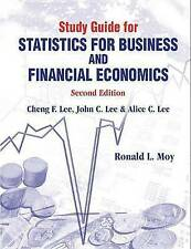 Study Guide for Statistics for Business and Financial Economics (Second Edition