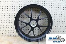08-09 MV AGUSTA BRUTALE 1078 RR OEM MARCHESINI REAR WHEEL BACK RIM STRAIGHT