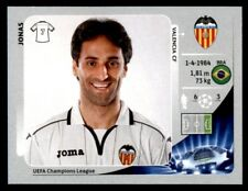 Panini Liga de Campeones 2012-2013 Jonas Valencia CF no. 405