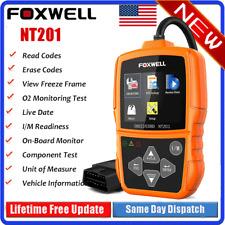 Foxwell NT201 Auto Car OBD2 Code Reader Diagnostic Scanner Code Engine Check US