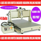 USB 4 Axis CNC6090 Router Ball Screw 3D Milling Engraving Machine 1.5KW+REMOTE