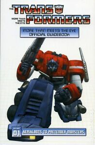 Transformers More than Meets the Eye Official Guidebook TPB #1-1ST VF 2008