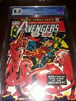 The Avengers #112 CGC 8.5 ( 1973 ) - 1st APP Mantis! Black Widow leaves Avengers