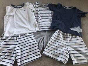 The litte White company Boys Summer pyjamas