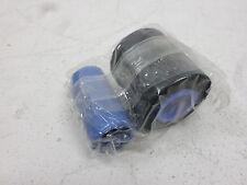 GENUINE Zebra 800014-901 Monochrome Card Ribbon iSeries printers P630i and P640i